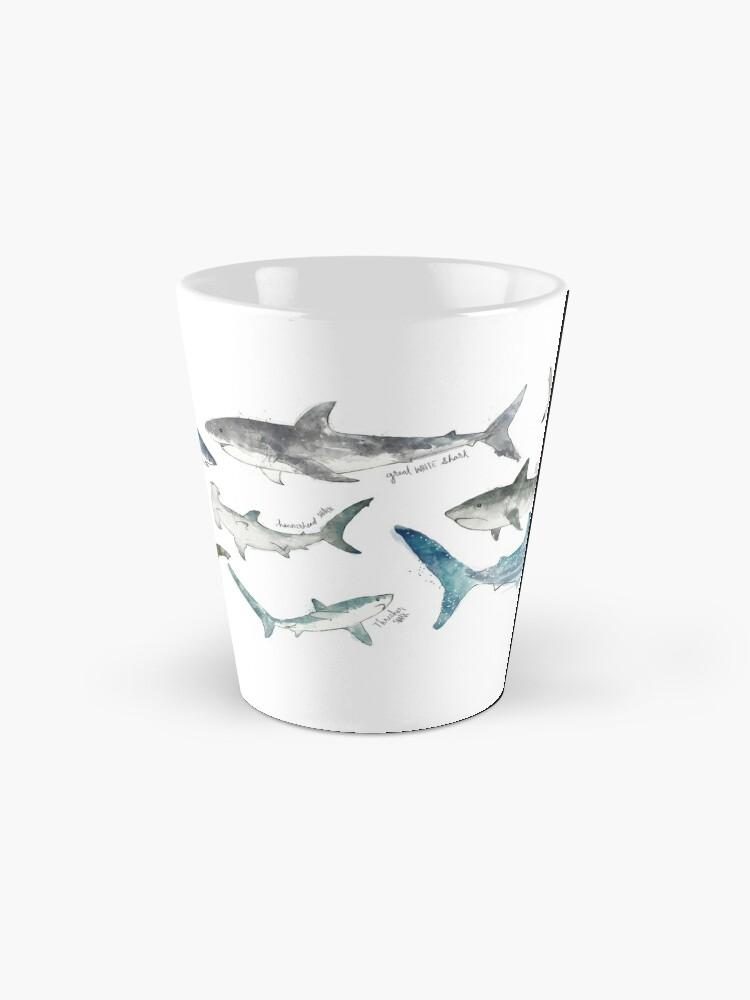 Alternate view of Sharks Mug