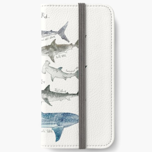 Sharks iPhone Wallet