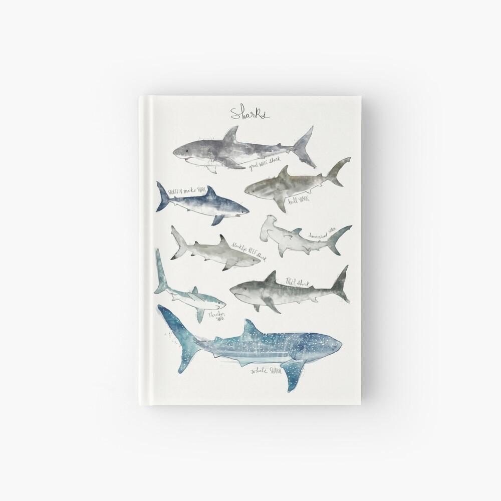 Sharks Hardcover Journal