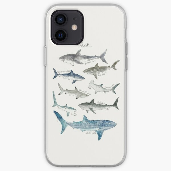 Sharks iPhone Soft Case