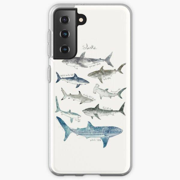 Sharks Samsung Galaxy Soft Case