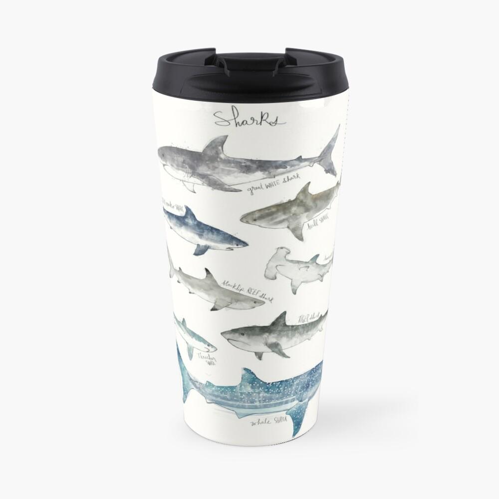 Sharks Travel Mug