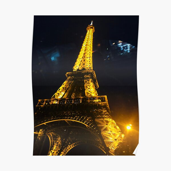 Eiffel Tower Picture Poster