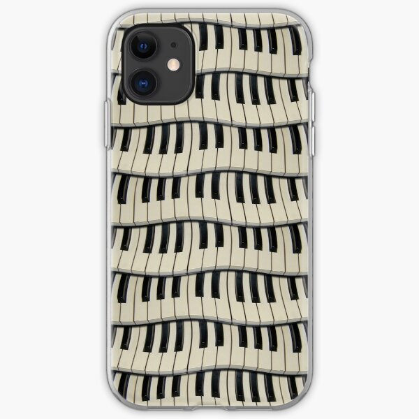 Rock And Roll Piano Keys iPhone Soft Case
