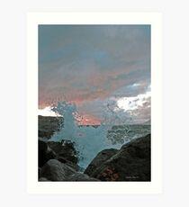 From Vesterålen islands in the north of Norway Art Print