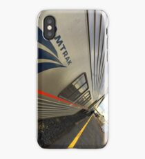 Amtrak Train Sits In Station iPhone Case/Skin