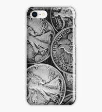 Walking Liberty Coins iPhone Case/Skin