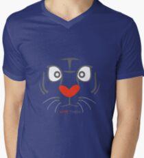 I Love Tigers Mens V-Neck T-Shirt
