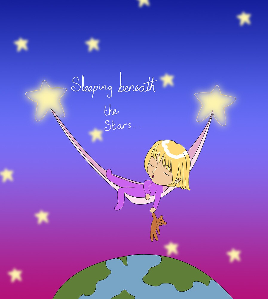 Sleeping Beneath The Stars by dinkydivas