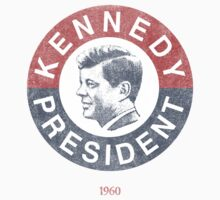 Vintage 1960 Kennedy for President T-Shirt