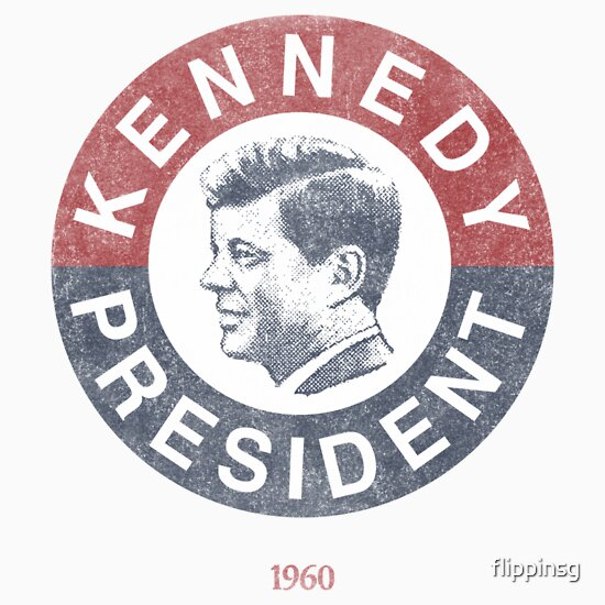 TShirtGifter presents: Vintage 1960 Kennedy for President T-Shirt