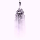 «Edificio Pink Empire State» de Claire Andrews