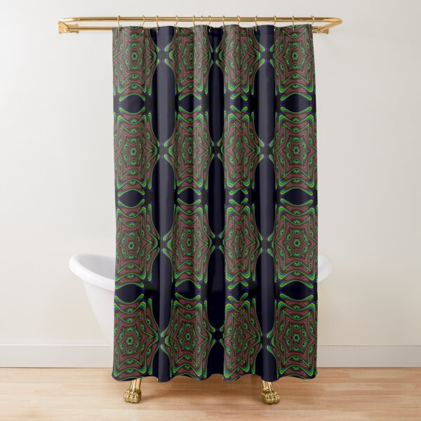 Jungle Roses~ Shower Curtain