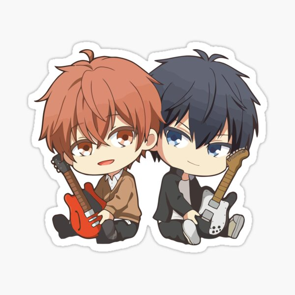 Given- Mafuyu and Ritsuka Chibis Sticker