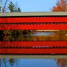 Sachs Covered Bridge by Sharon Batdorf