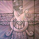 Ahura Mazda by signaturelaurel