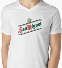 San Miguel Men's V-Neck T-Shirt