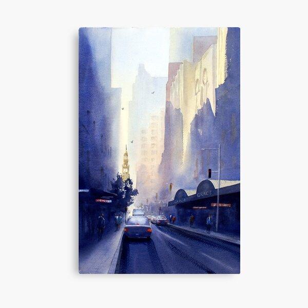 York Street, Sydney Canvas Print