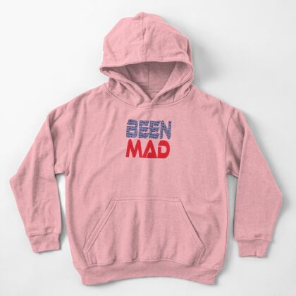 #OurPatriotism: Been Mad (Red, White, Blue) by Onjena Yo Kids Pullover Hoodie