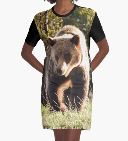 Togwotee Pass Griz Graphic T-Shirt Dress