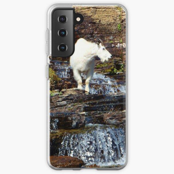 Logan Pass Mountain Goat Samsung Galaxy Soft Case