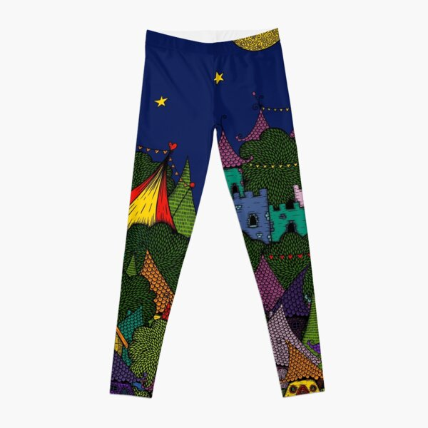 Rainbow City Leggings