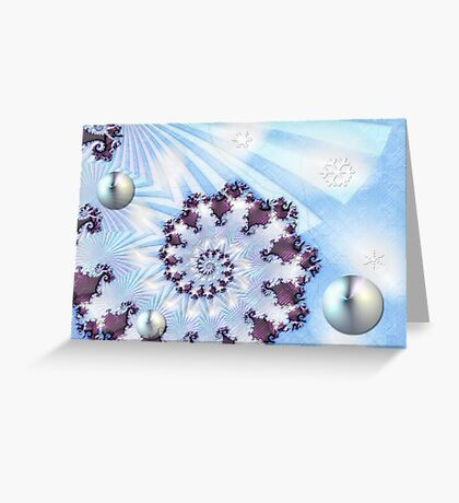 Dreaming of a White Christmas Greeting Card