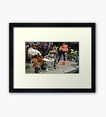 Sidewalk Cafe Framed Print