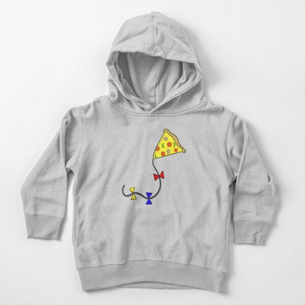 Pizza Kite Toddler Pullover Hoodie