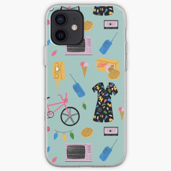 Stranger Things Pattern  iPhone Soft Case