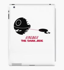 Engage The Dark Side iPad Case/Skin