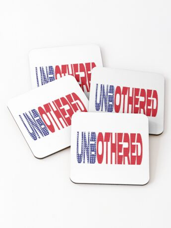 #OurPatriotism: UnbOthered (Red, White, Blue) by Onjena Yo Coasters