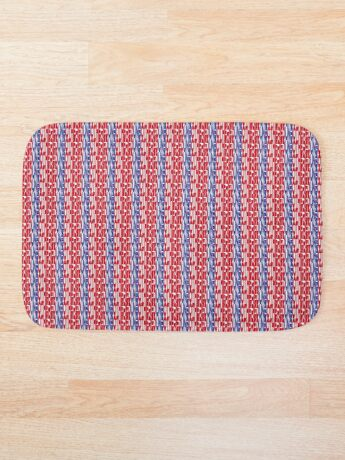 #OurPatriotism: UnbOthered (Red, White, Blue) by Onjena Yo Bath Mat