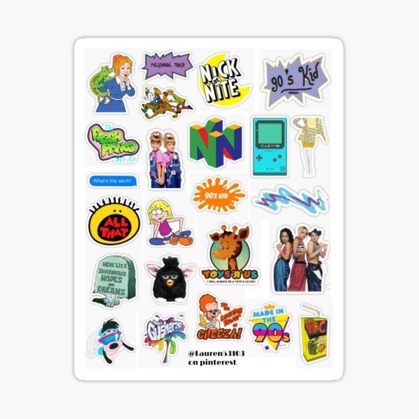 90s sticker pack Sticker