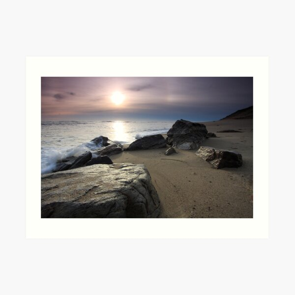 New Day Cape Cod, Eastham Ocean Side Sunrise Art Print