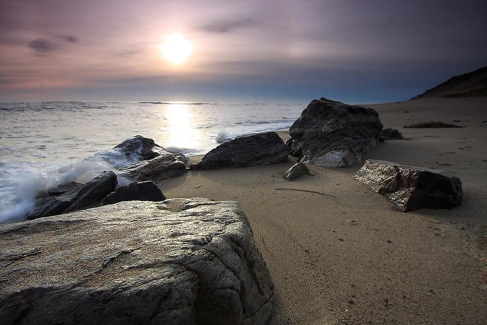 New Day Cape Cod, Eastham Ocean Side Sunrise by Artist Dapixara