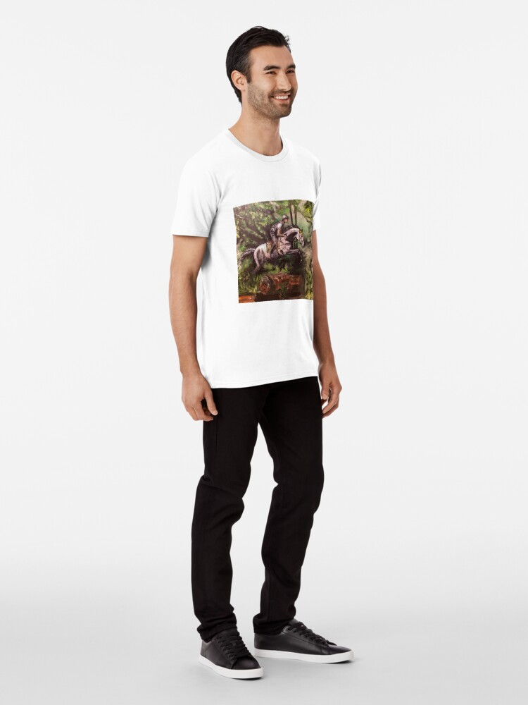 Alternate view of Over hill and dale Premium T-Shirt