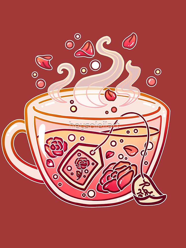 Sweet Rose Tea by heysoleilart