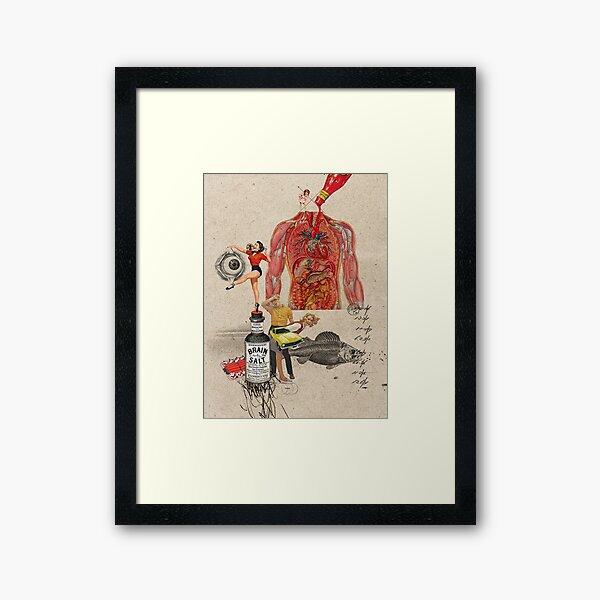 CATSUP Framed Art Print