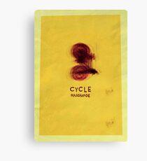 Cycle - Handmade Canvas Print