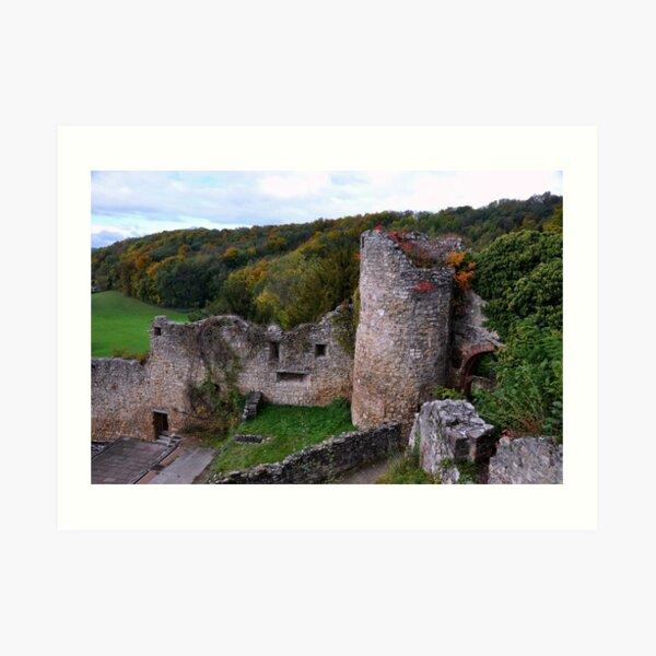 The Ruin: Burg Rötteln Art Print