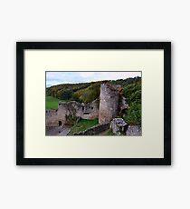The Ruin: Burg Rötteln Framed Print