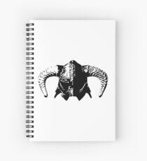 Dovahkiin's Helmet Spiral Notebook