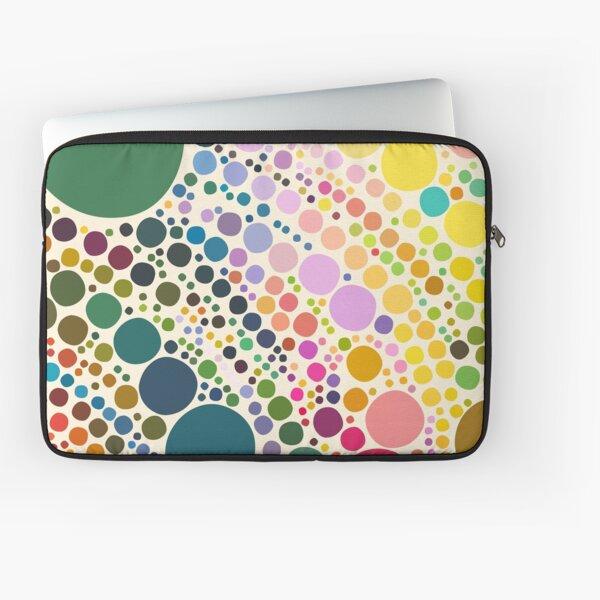 Light Pastel Pebble Pattern Laptop Sleeve