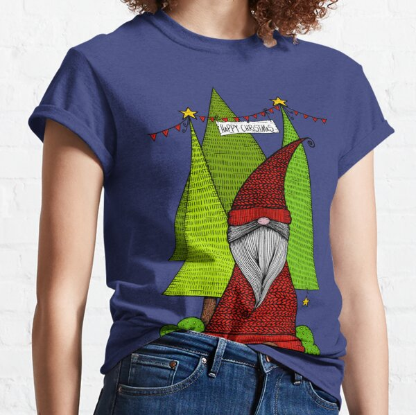 Christmas Kabouter/ Dutch Gnome Classic T-Shirt