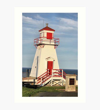 Fort Amherst Lighthouse Art Print