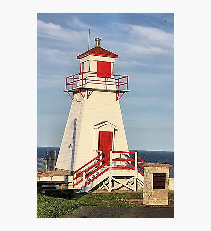 Fort Amherst Lighthouse Photographic Print