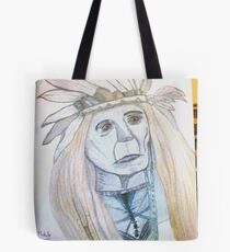 Wisdom As The World Passes By Tote Bag