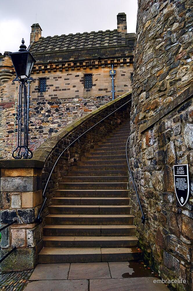 Lang Stairs, Edinburgh by embracelife