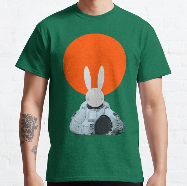 Mr Bunny goes to space Classic T-Shirt